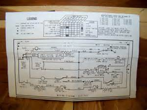 whirlpool dryer wiring diagram electric gas 3406692 ebay