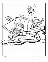 Pirate Coloring Pages Printable Getdrawings sketch template
