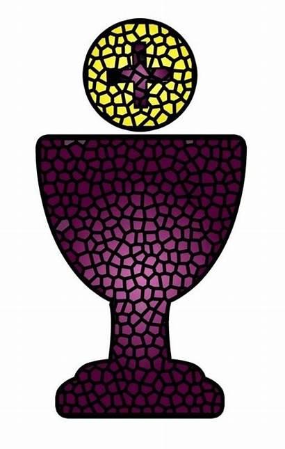 Communion Holy Eucharist Clip Chalice Clipart Catholic
