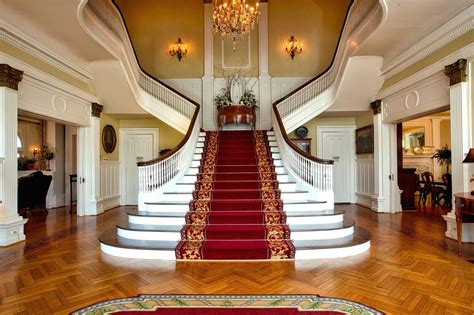 Free picture: design, stairs, architecture, chandelier