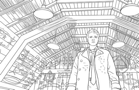 supernatural  official coloring book book  insight