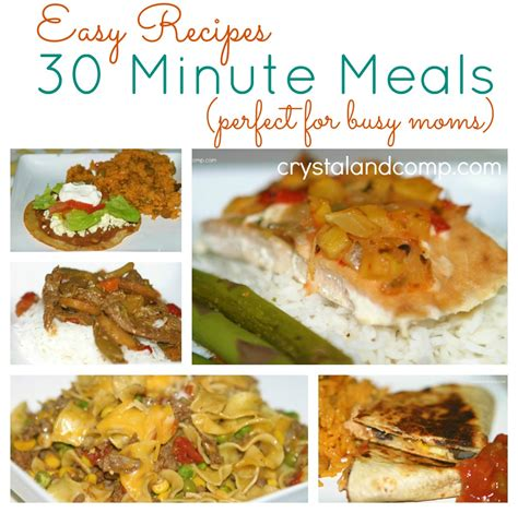 cuisine minute 30 minute meals 17 fast cooking dinners