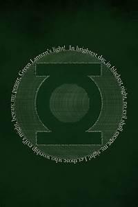 FREEIOS7 green-lantern-delorelle - parallax HD iPhone