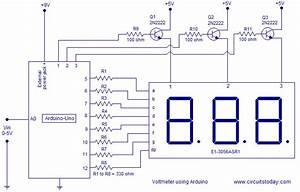Voltmeter Using Arduino