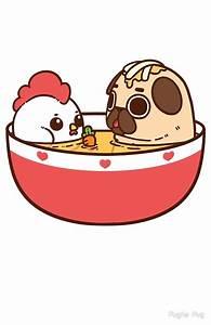 """Chicken Noodle Puglie"" by Puglie Pug Redbubble"
