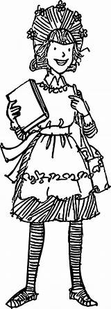 Amelia Bedelia Coloring Student Pages Wecoloringpage sketch template