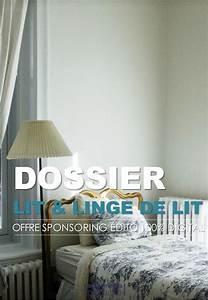 Dossier De Lit : offre sponsoring dossier lit linge de lit ~ Teatrodelosmanantiales.com Idées de Décoration