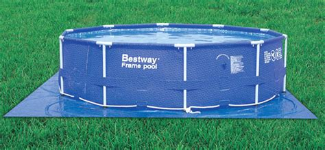 Above Ground Pool Floor Mats by Bestway Ground Cloth Mat Above Ground Pools