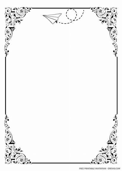Invitation Printable Diy Templates Template Printing Paper