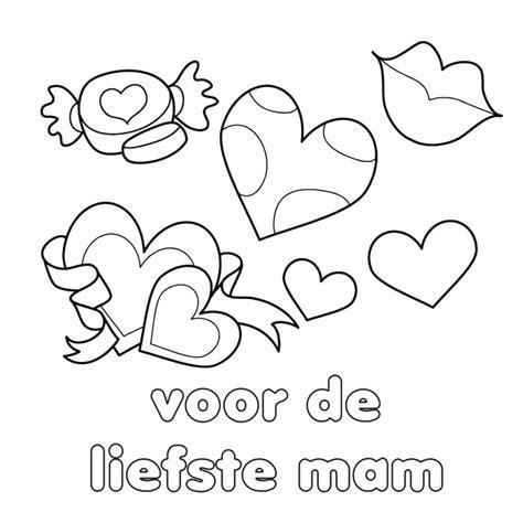Leuke Kleurplaten Voor Moederdag by Leuk Voor Liefste