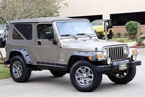 2006 Khaki Metallic Jeep Wrangler Unlimited  21995  With