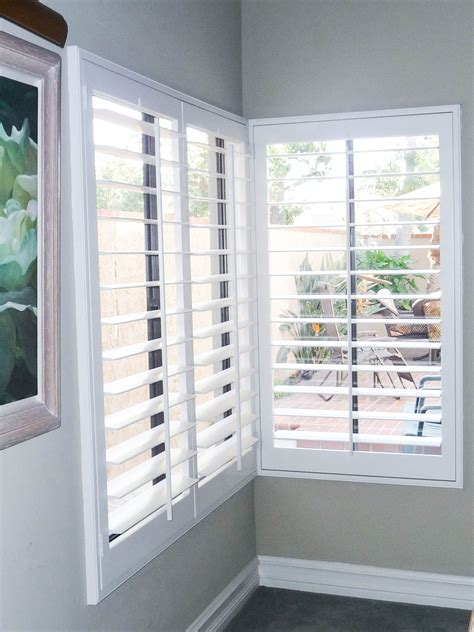 Interior Plantation Shutters by Check Out These Bright White Interior Plantation Shutters