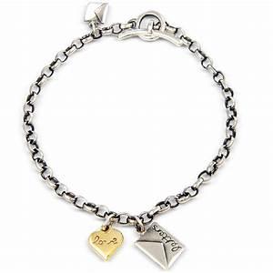Love letters bracelet contemporary bracelets by for Love letter bracelet