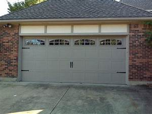 Carriage style garage door inside carriage garage doors for Carriage style garage doors kit