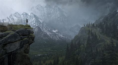 Four New Rise Of The Tomb Raider Xbox One Concept Art Revealed