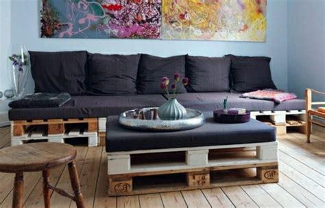 canapé en palette de bois le fauteuil en palette est le favori incontesté pour la