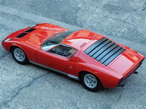 1966 Lamborghini Miura (Bertone) - Studios