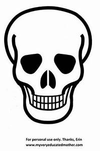 Best Photos Of Day Of Dead Skull Template Day Of The