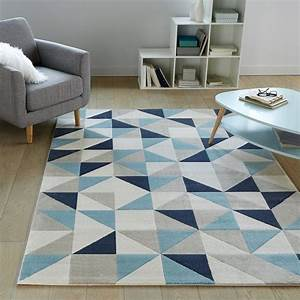 Resultat de recherche d39images pour quottapis bleuquot tapis for Tapis moderne avec canapé texas