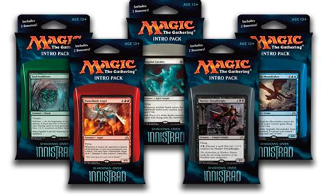 mtg intro decks shadows innistrad shadows innistrad intro packs decklists