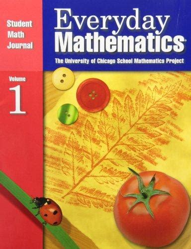 Everyday Mathematics Student Math Journal 1 Grade 1  Rent 9781570398216 1570398216