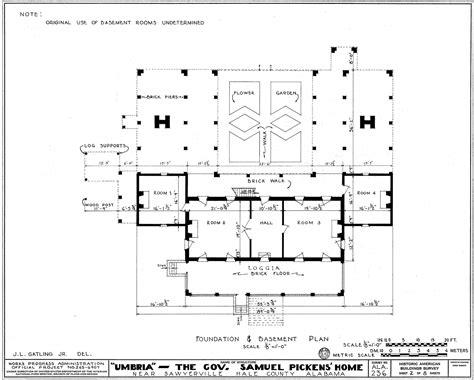 architecture plans file umbria plantation architectural plan of raised