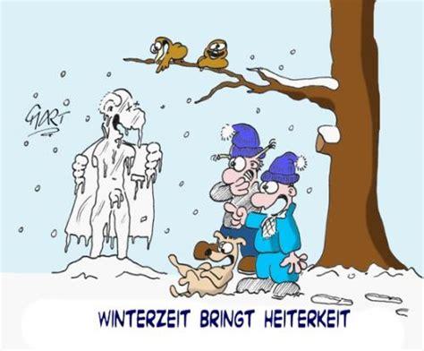 winterzeit bringt heiterkeit von mart liebe cartoon