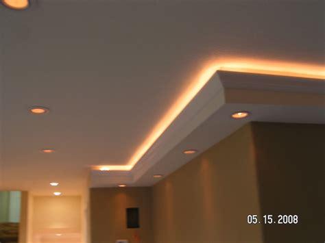 custom lighting  soffits  built soffit  crown