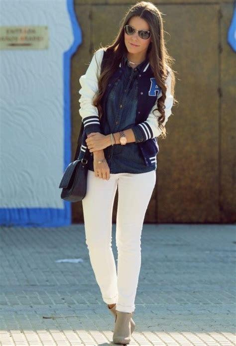 trendy ways  wear  white jeans