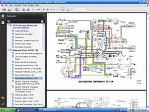 Cd 70 Mustang Colorized Wiring  Vacuum Diagram