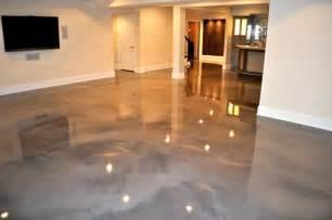 Tile For Basement Concrete Floor by Epoxy Floor Basement On Pinterest