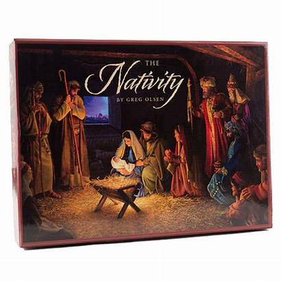 Nativity Olsen Greg Puzzle Puzzles Christmas Lds