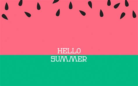 Desktop Summer Girly Wallpapers by Hello Summer Wallpapers Wallpaper Cave