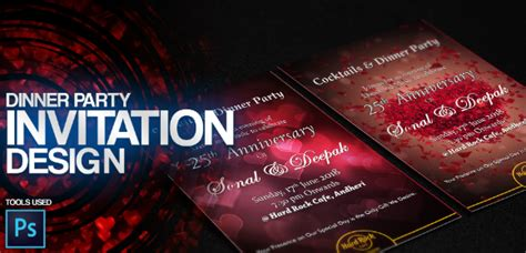 9+ Dinner Party Invitation Designs & Templates Free