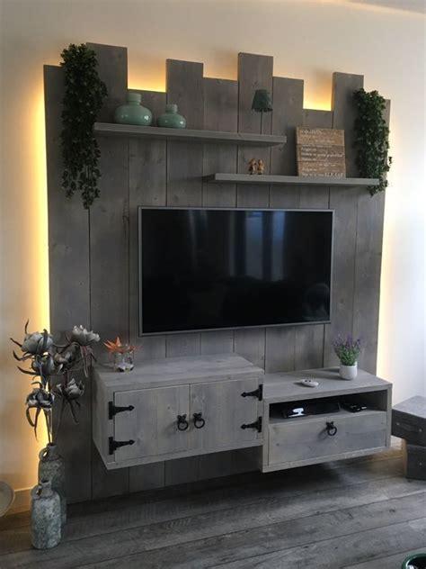 coolest diy wood pallet tv console ideas