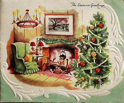 living room scene fireplace chandelier xmas tree