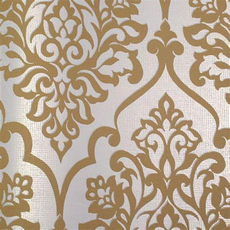 Wallpaper Gold And Silver by 48 White And Silver Metallic Wallpaper On Wallpapersafari