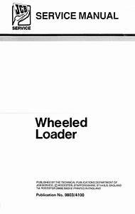 Jcb 410  412  415  420  425  430 Wheeled Loader Service