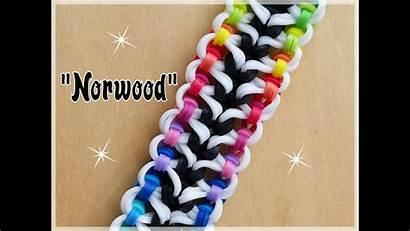 Loom Rainbow Bracelet Norwood Band Tutorial