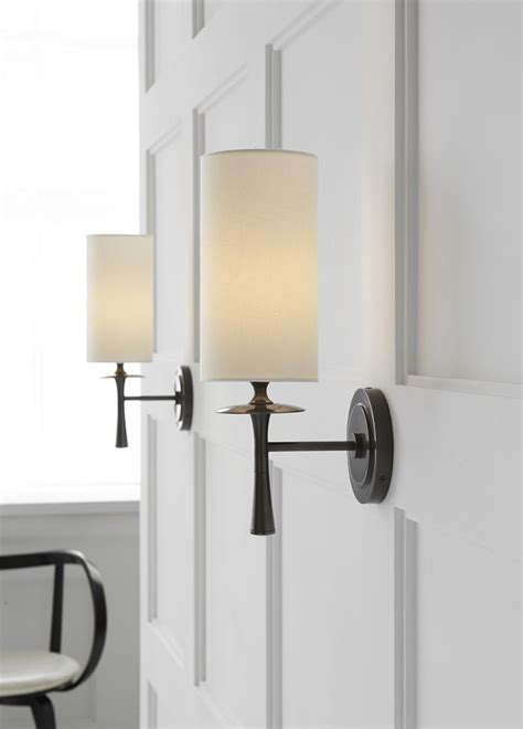 wall lights astonishing wall sconce with shade 2017 ideas