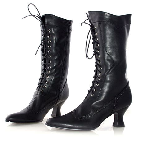 Amelia Black Adult Boots Buycostumes