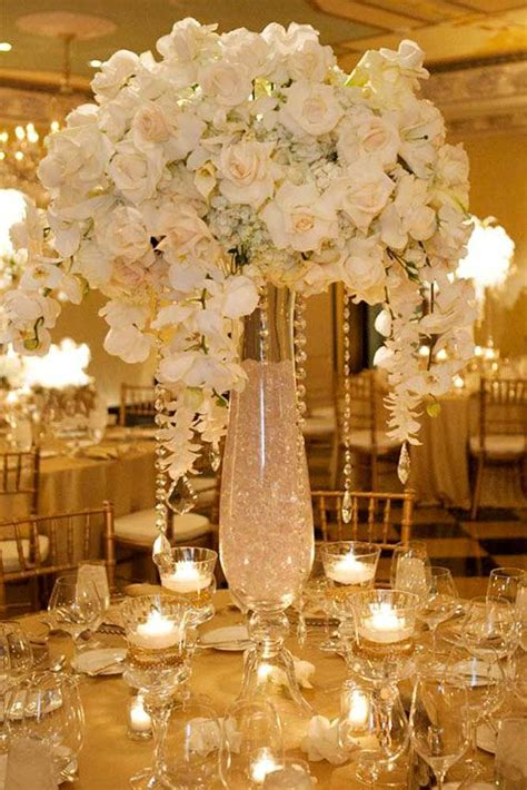 36 Amazing Wedding Centerpieces With Flowers Tall