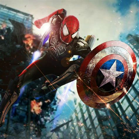 Iron Spider Background by Iron Spider Wallpapers Top Free Iron Spider