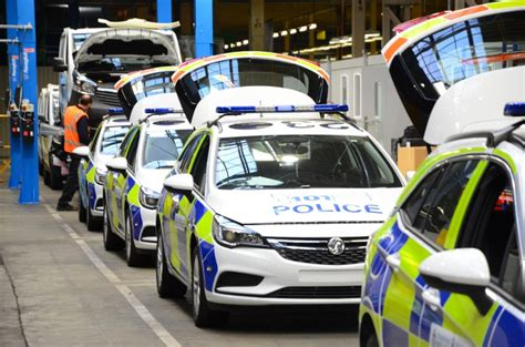 Vauxhall Opens Largest Police Car Factory