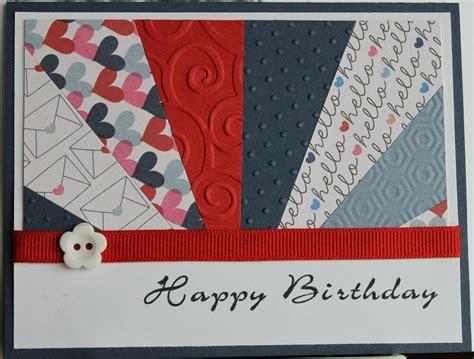 stampin  handmade birthday card homemade greeting