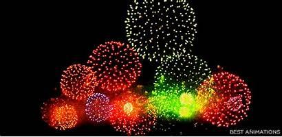 Fireworks Animated Amazing Colorful Firework Gifs Bestanimations