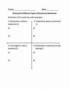 13 Best Images Of Different Types Of Writing Worksheets