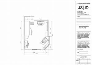 Rockville  Md Residence Online Design Project Bonus Room