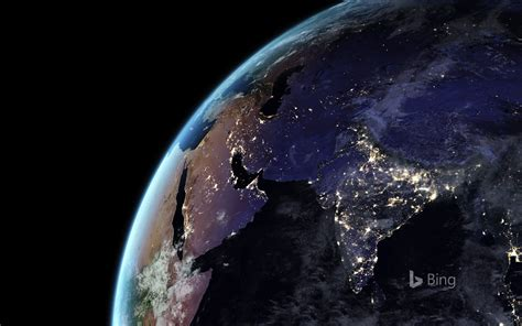 Earth At Night World Population Drawing Images