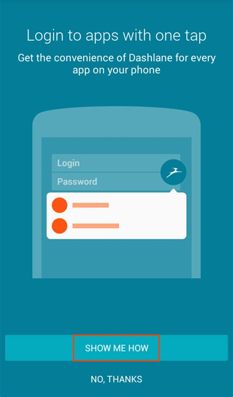 site login android how to enable and use auto login for android apps dashlane